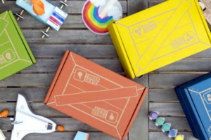 Free Box with 3 Month Kiwi Crate Subscription + Shop Sale!