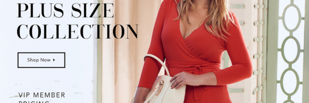 New JustFab Plus Size Collection + First Month Offer!