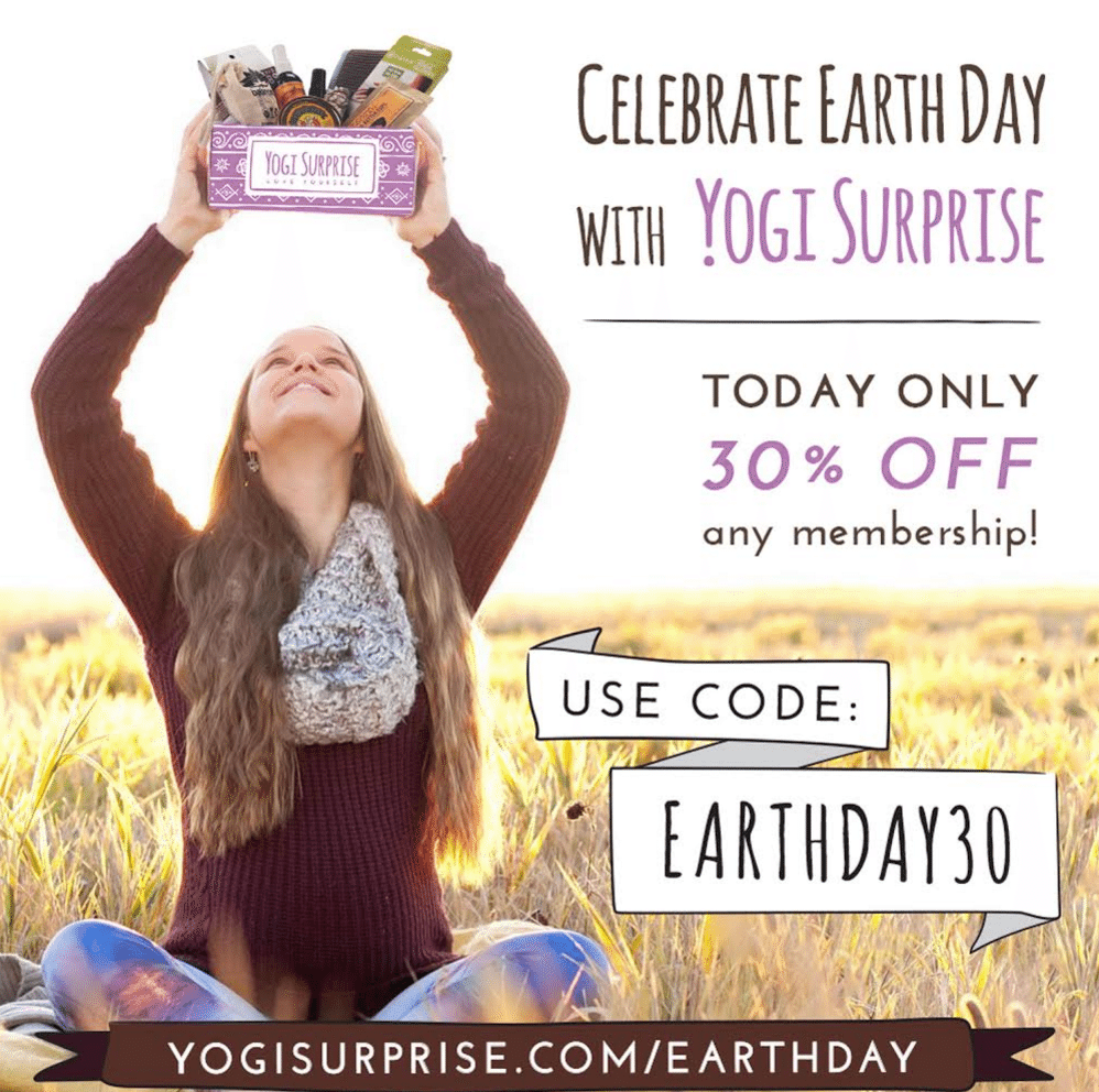 Yogi Surprise Earth Day Sale – 30% Off Your First Month!