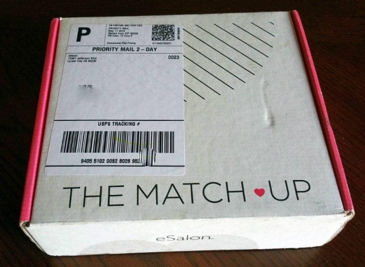 ESALON MATCH UP MAY 2016 - box