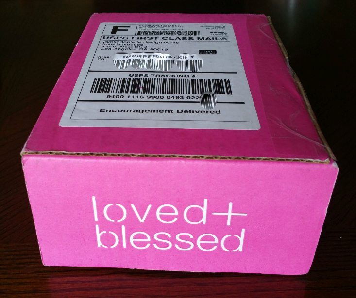 LOVED + BLESSED MAY 16 - box