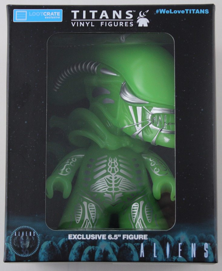 Loot Crate Limited Edition Aliens Crate Review - Titan in box