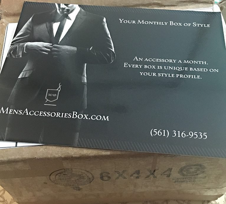 Men's Accessories Box Subscription Box Review + Coupon – May 2016