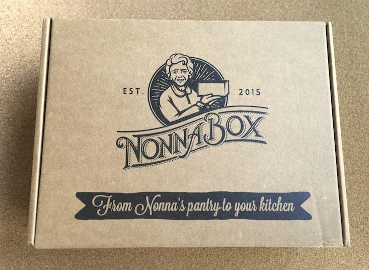 Nonna Box Subscription Box Review + Coupon – April 2016