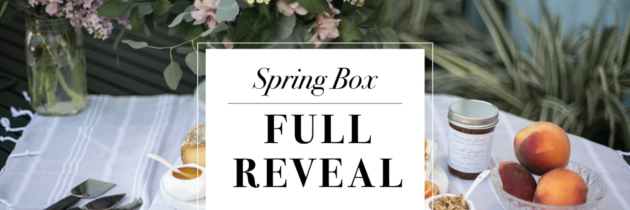 Mostess Spring 2016 Box FULL SPOILERS + Coupon