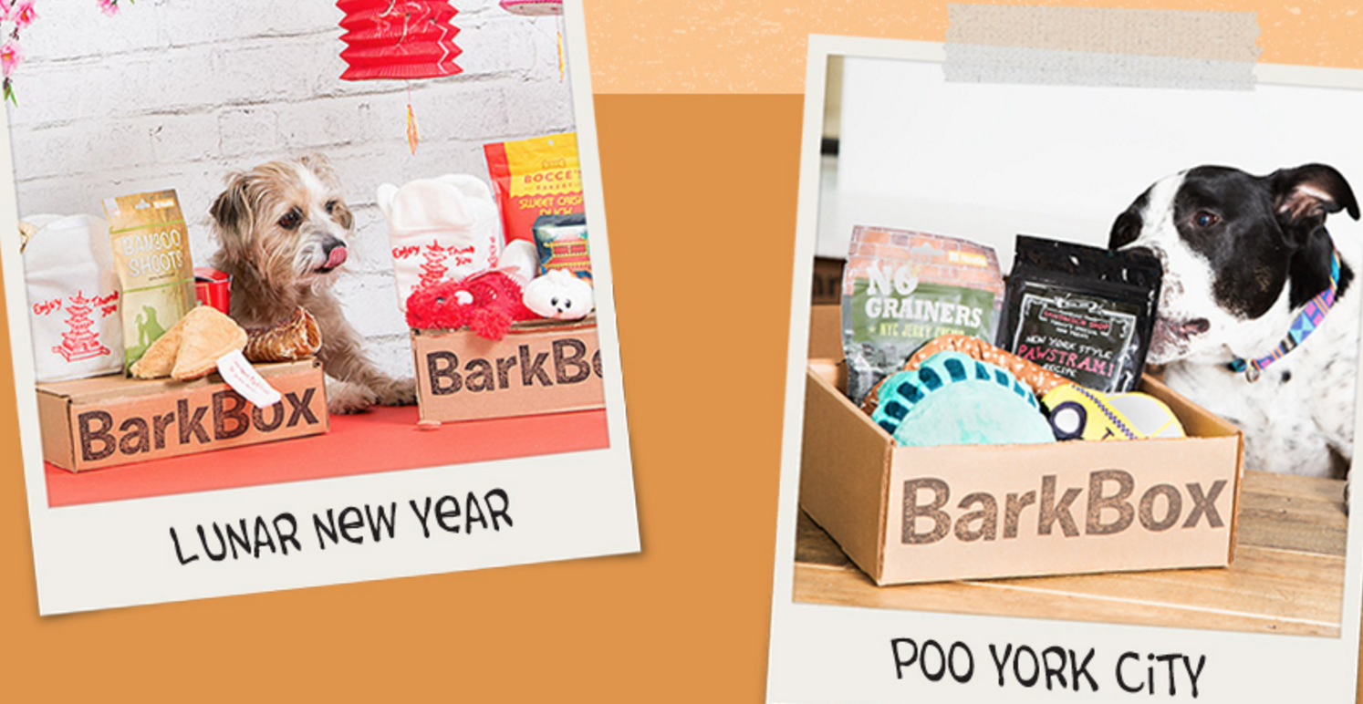 Past BarkBoxes Available In The BarkShop