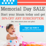 Bluum Memorial Day Sale – 30% Off All Length Subscriptions!