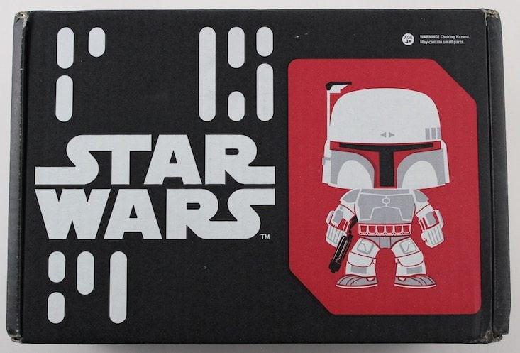 Star Wars Smugglers Bounty Subscription Box Review May 2016 - box