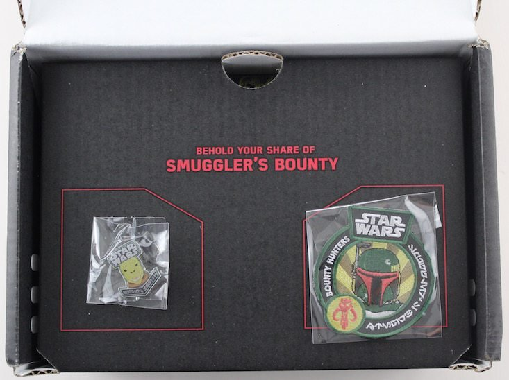 Star Wars Smugglers Bounty Subscription Box Review May 2016 - inside