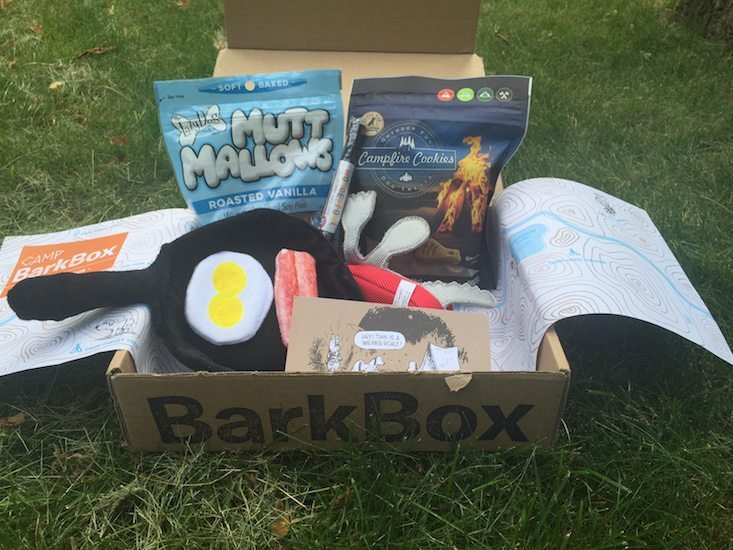 BarkBox Subscription Box Review & Coupon June 2016 - all items