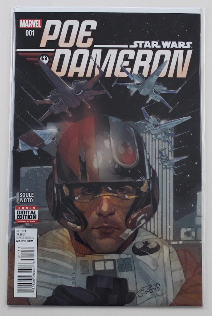 Comicboxer Subscription Box Review + Coupon April 2016 - poe dameron