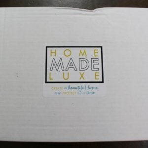 Home Made Luxe Subscription Box Review + Coupon – May 2016