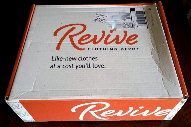 REVIVE DEPOT JUNE 2016 - BOX
