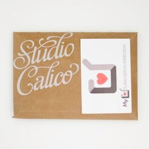 Studio Calico Stationery Kit Subscription Review – June 2016