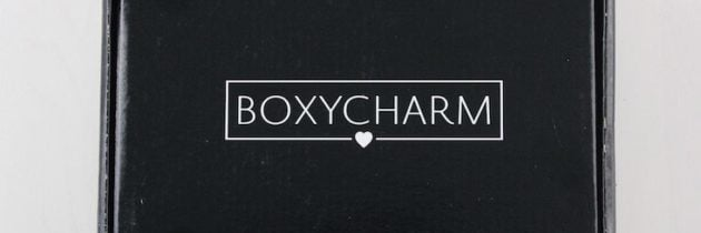 BoxyCharm Subscription Box Review – June 2016