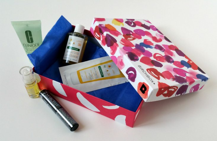BIRCHBOX JULY 2016 - all items 2
