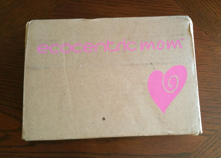 ECOCENTRIC MOM JUNE 2016 - BOX