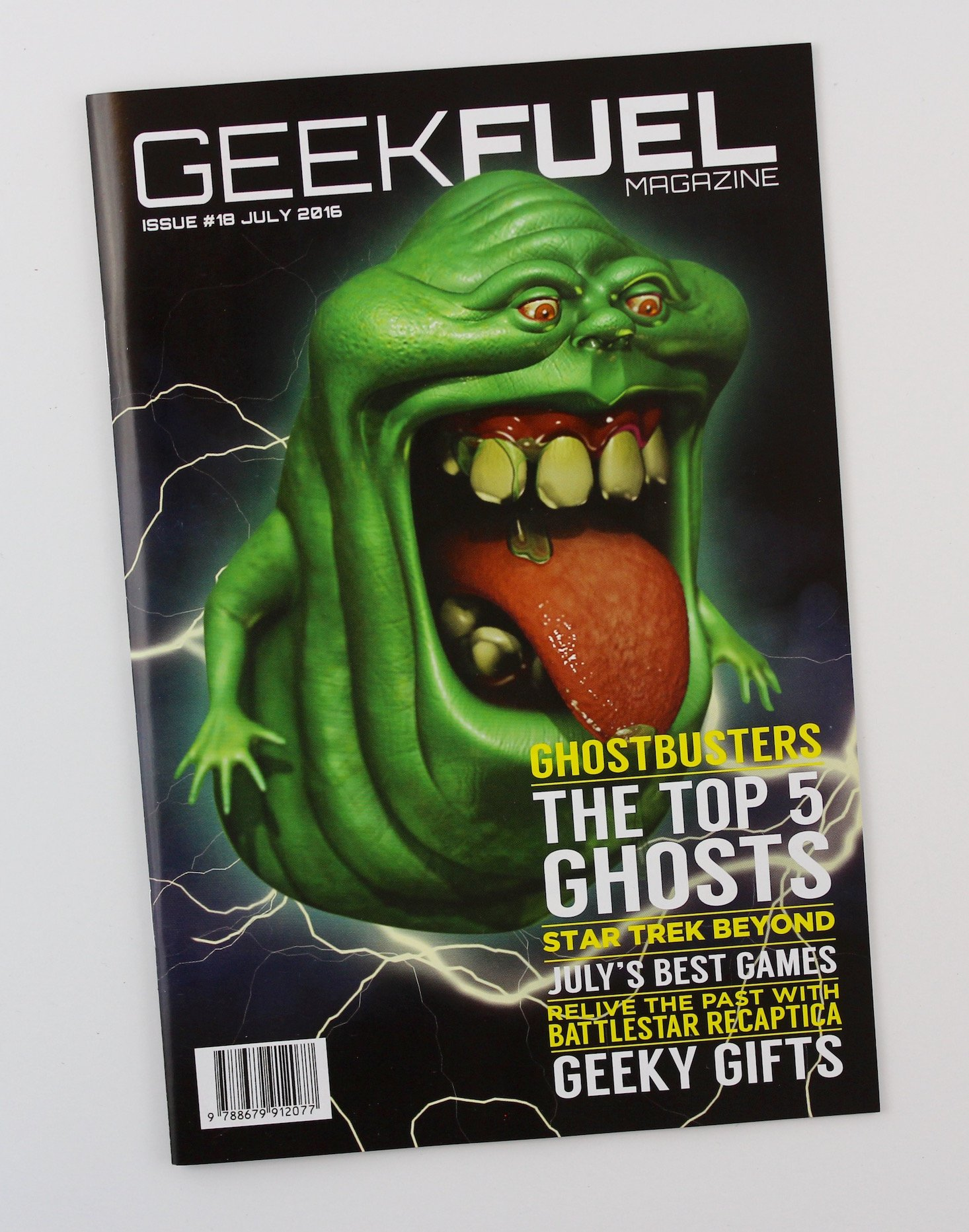 Geek Fuel Subscription Box Review + Exclusive Coupon July 2016 - magazine