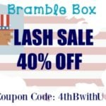 4th of July Sale – 40% Off Your First Month of Bramble Box Props!