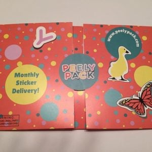 PeelyPack Sticker Subscription Box Review + Coupon- Jun 2016