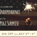 Yogi Surprise 4th of July Sale – 25% Off Your First Month!