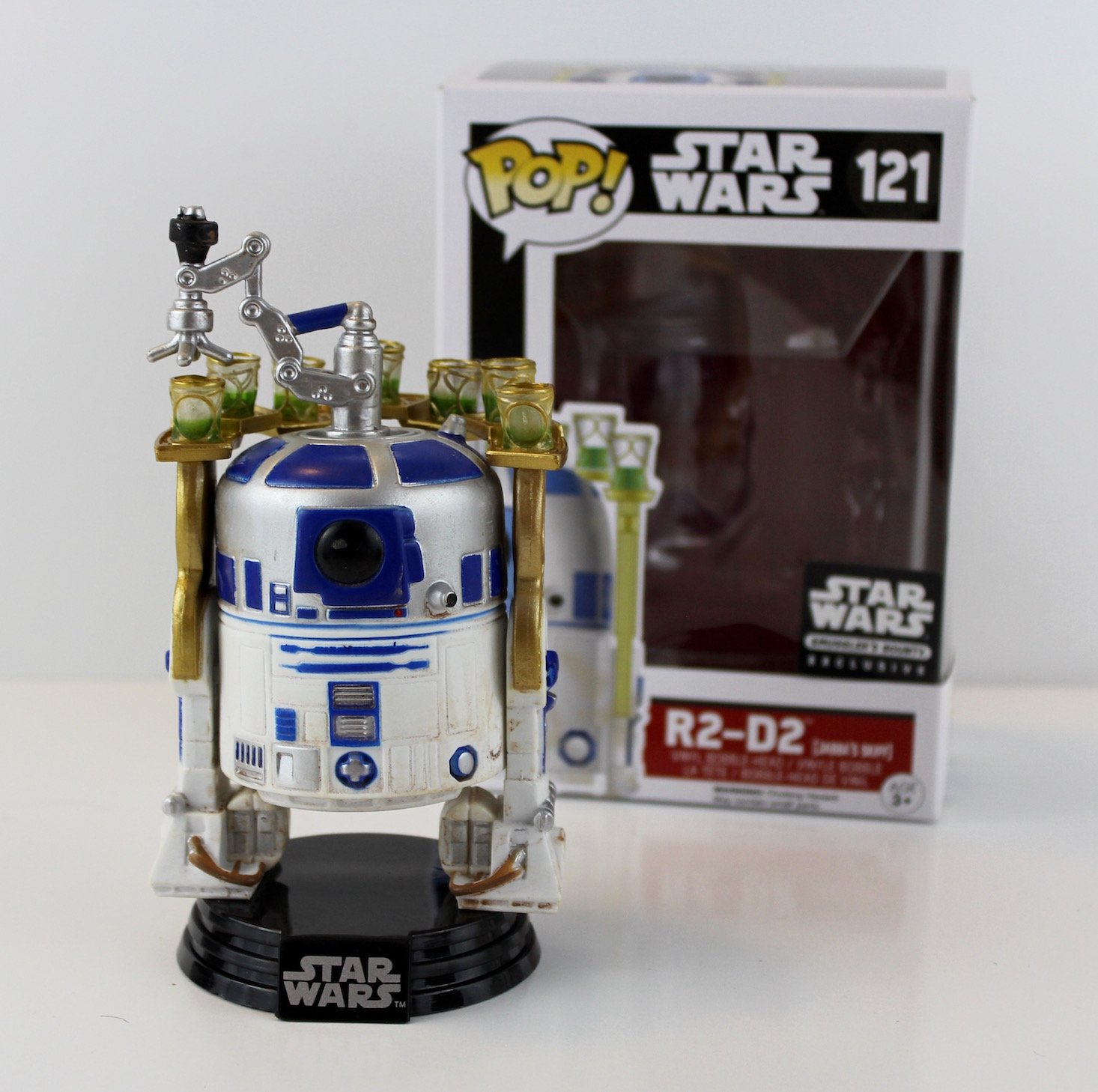 Star Wars Smuggler's Bounty Subscription Box Review Jabba's Palace - R2D2 POP