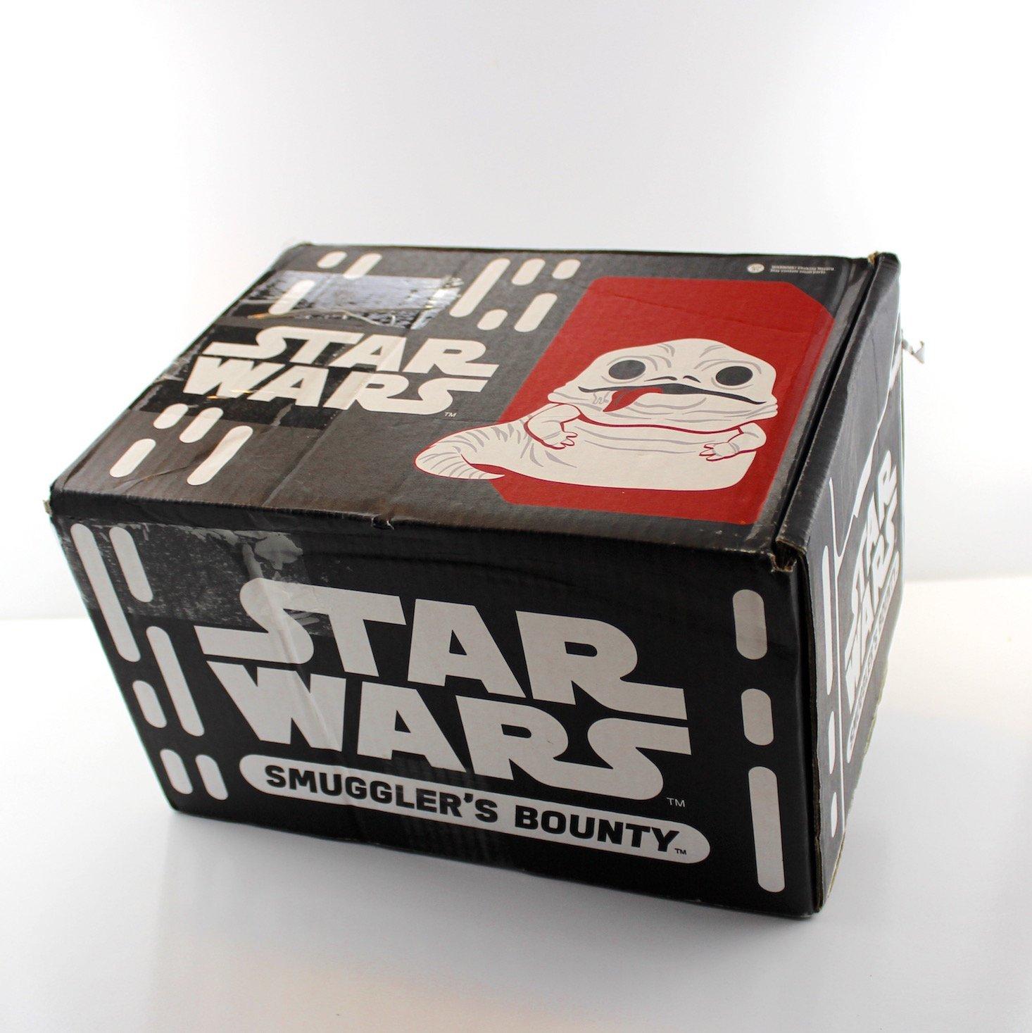 Star Wars Smuggler's Bounty Subscription Box Review Jabba's Palace - box