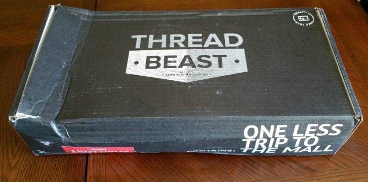 ThreadBeast Men's Subscription Box Review + Coupon- Jun 2016