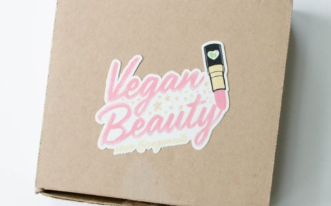 Vegan Cuts Makeup Subscription Box Review – Summer 2016