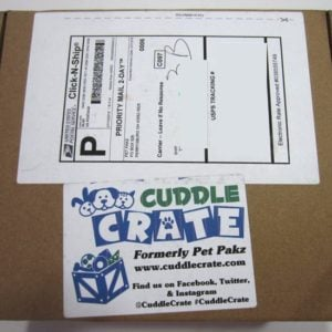 Cuddle Crate Cat Subscription Box Review + Coupon – Jul 2016