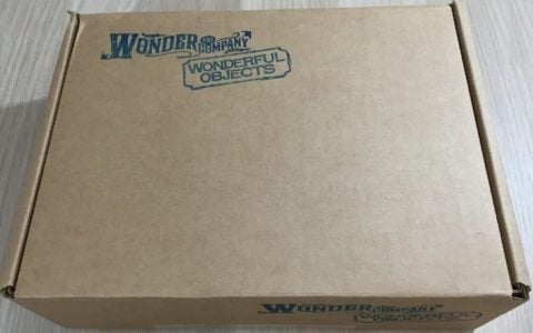 Wonderful Objects Subscription Box Review + Coupon- Jul 2016