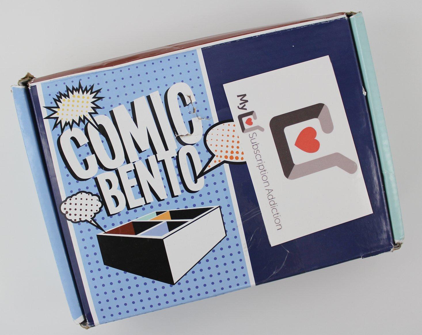 Comic Bento July 2016 - 1