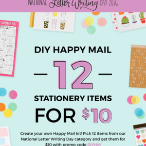 A Beautiful Mess Coupon – DIY Happy Mail Kit for $10