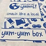 Universal Yums Subscription Box Review – July 2016