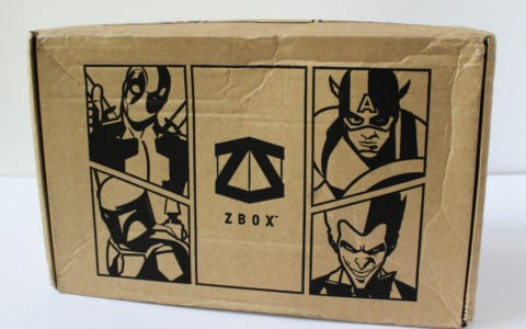 ZBox Subscription Box Review – August 2016