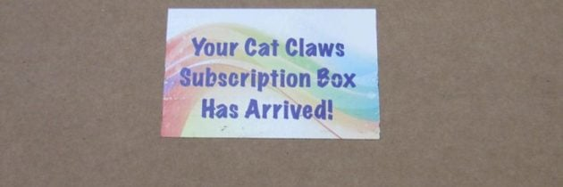 Cat Claws Club Subscription Box Review – August 2016
