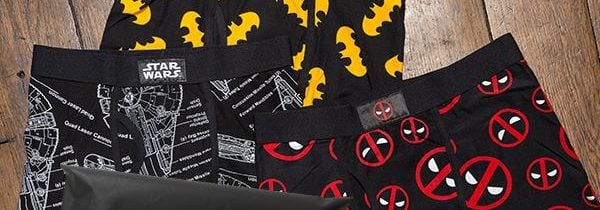 New Loot Wear by Loot Crate Subscription – Loot Undies!