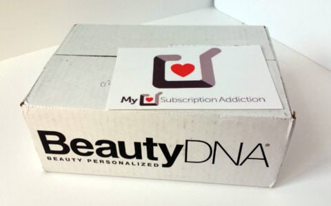 Beauty DNA Subscription Box Review + Coupon – September 2016