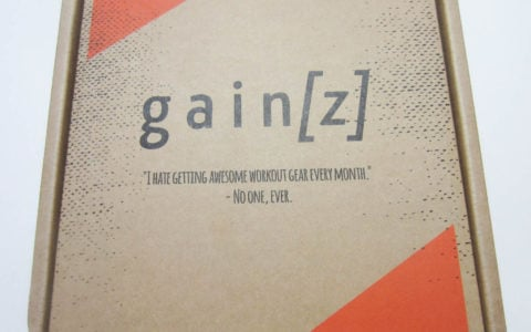 Gainz Box Subscription Review + Coupon – September 2016