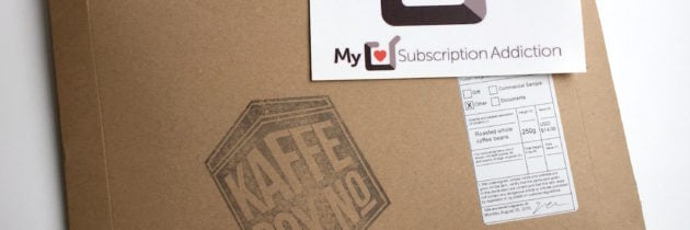KaffeBox Coffee Subscription Review + Coupon- September 2016