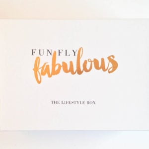 Fun Fly Fabulous Subscription Box Review – September 2016