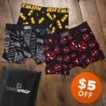 Flash Sale – Save $5 Off Your First Month of Loot Undies!