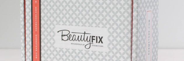 Beauty Fix Subscription Box Review – October 2016