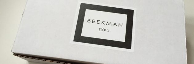 Beekman 1802 Beauty Box Subscription Box Review – Fall 2016