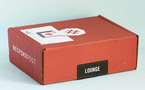"""Bespoke Post Subscription Box Review + Coupon – """"Lounge"""""""