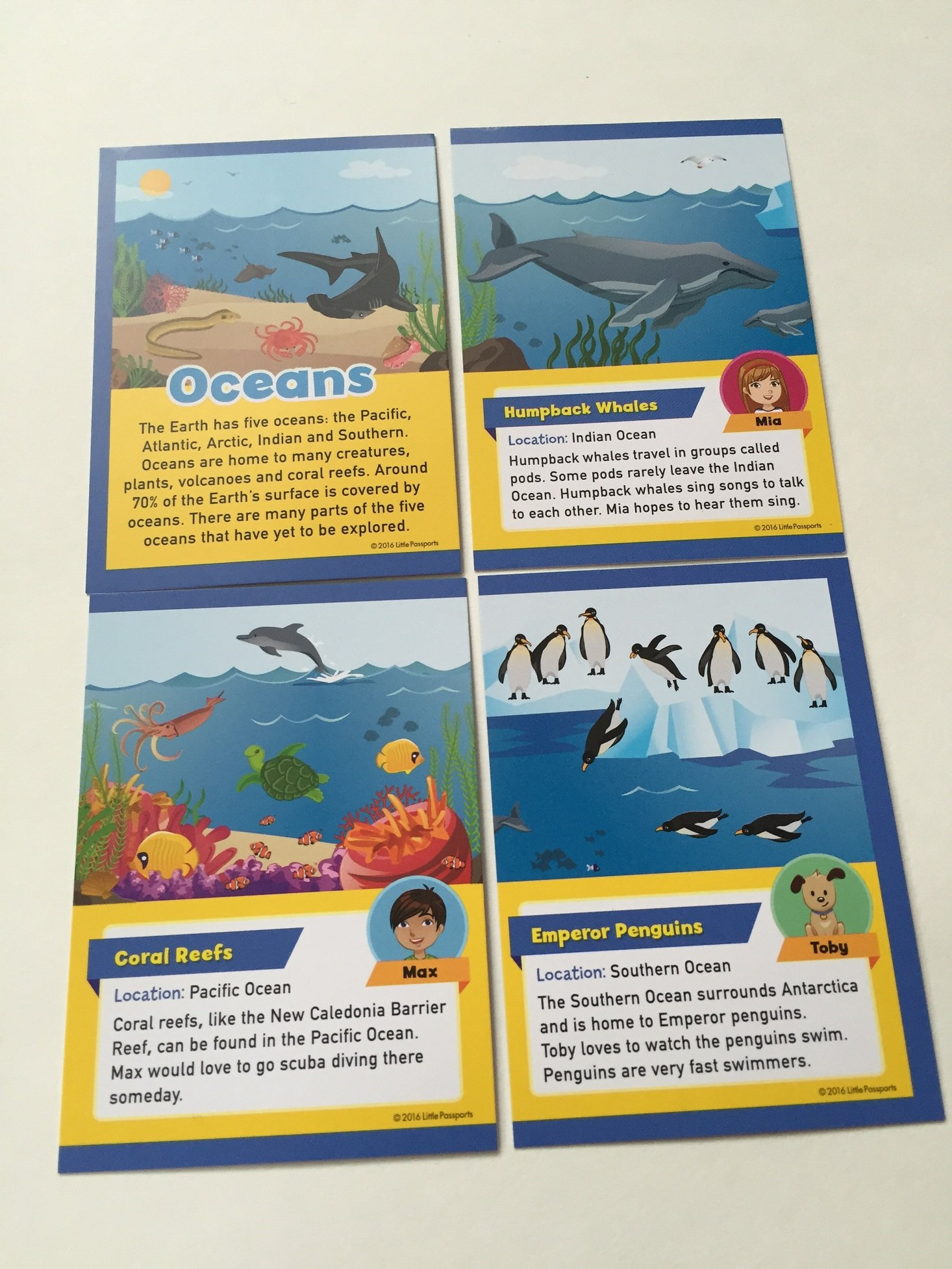 little-passports-oceans-2016-trading-cards