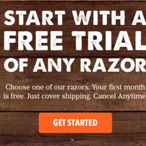 Free Month of Dollar Shave Club – Just Pay Shipping!