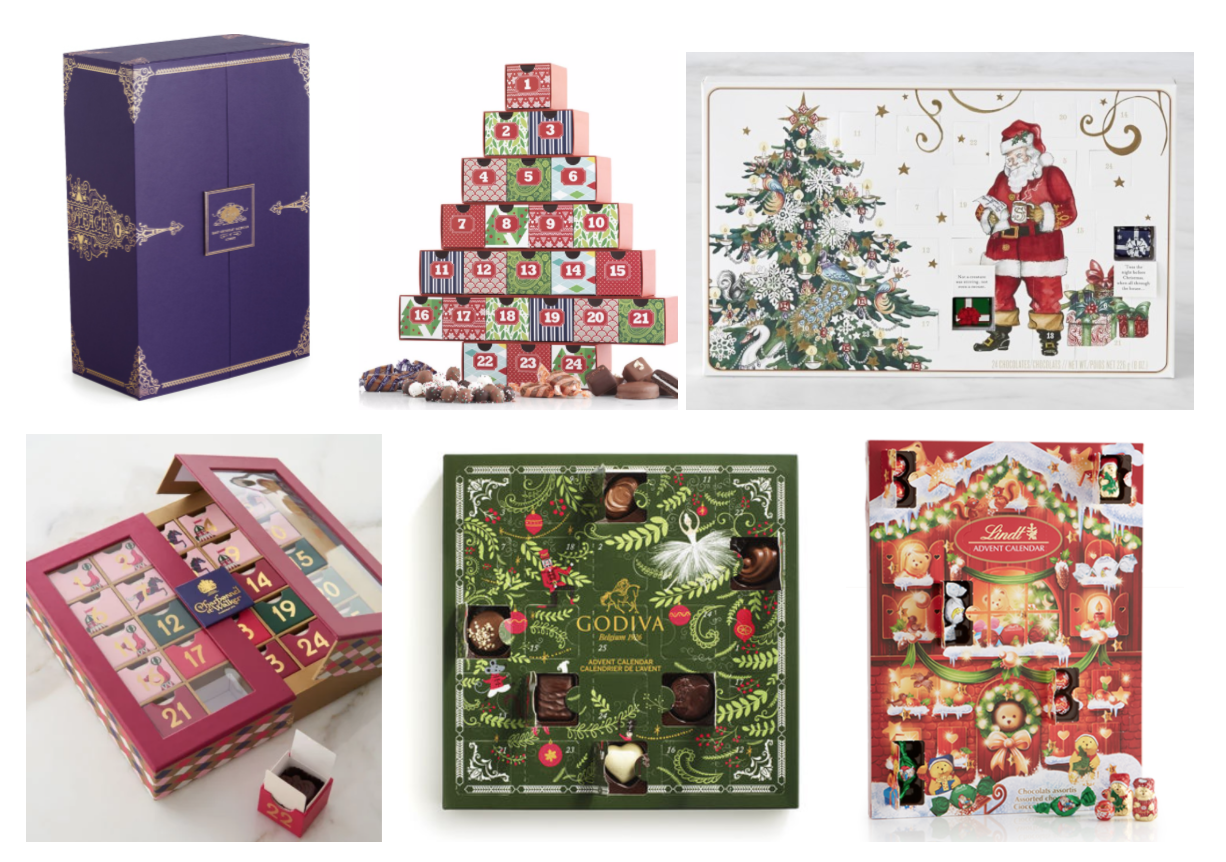Advent Calendar 2016 Chocolate : The best chocolate advent calendars for my