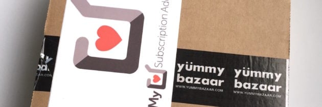 Yummy Bazaar Destination Food Club Sampler Box Review- September 2016