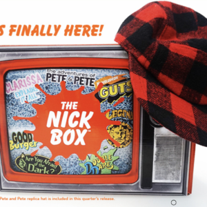 The Live Action Nick Box Available Now + Spoilers!